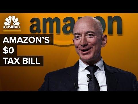 Wie Amazon im Jahr 2018 0 US-Dollar an Einkommensteuer gezahlt hat
