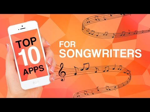 Top 10 Apps für Songwrit