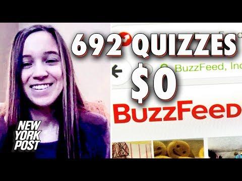Top Buzzfeed Quiz Maker über Nichtbezahlung und Massenentlassungen | New York Post