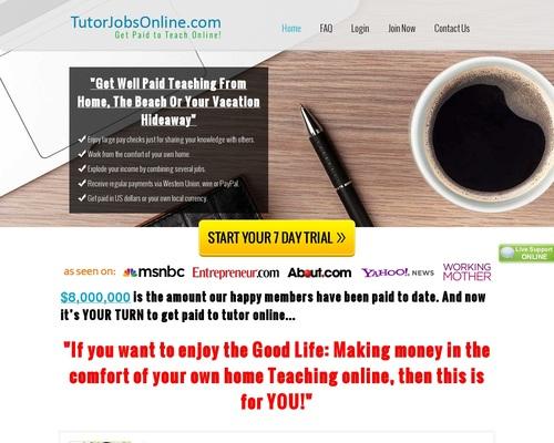 Tutor Jobs Online | Word betaal om aanlyn te onderrig