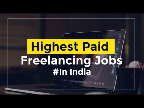 Höchste bezahlte freiberufliche Jobs in Indien – Fähigkeiten, Gehälter, wer kann gehen?