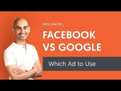 Facebook-Anzeigen im Vergleich zu Google-Anzeigen: Welche bezahlte Werbung sollten Sie für das Online-Marketing verwenden?