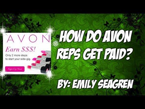Wie werden Avon-Vertreter bezahlt?