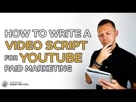 Wie schreibe ich ein Video-Skript für YouTube (Paid Marketing)