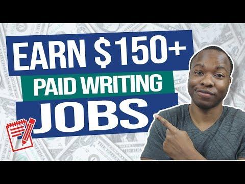Erhalten Sie $ 150 pro Artikel, um freiberuflich zu schreiben (bezahlte Online-Schreibjobs) | Von zu Hause aus arbeiten 2020