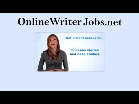 """Online Writer Jobs- """"Bezahlt werden, um zu Hause zu schreiben!"""""""