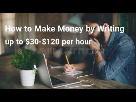 Schreibjobs 2019 – Bezahlt werden, um online zu schreiben! $ 30- $ 120 pro Stunde! EASY HACK!