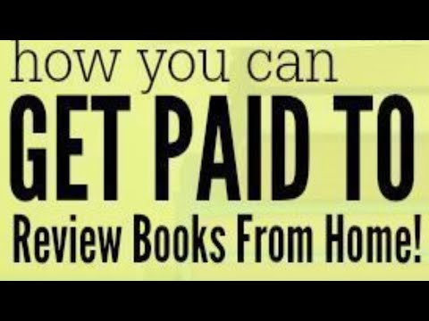 Lassen Sie sich bezahlen, um Bücher von zu Hause aus zu überprüfen Geld verdienen Websites