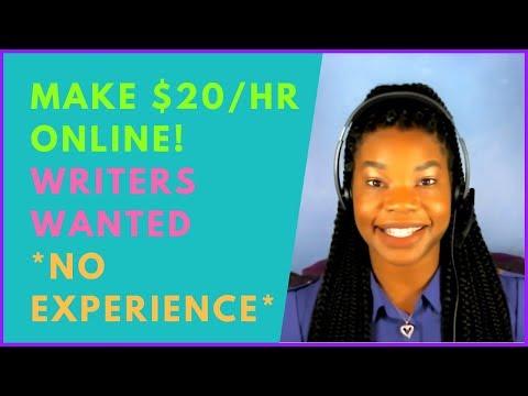 Zum Bearbeiten bezahlt werden & amp; Artikel online schreiben (ohne Erfahrung)