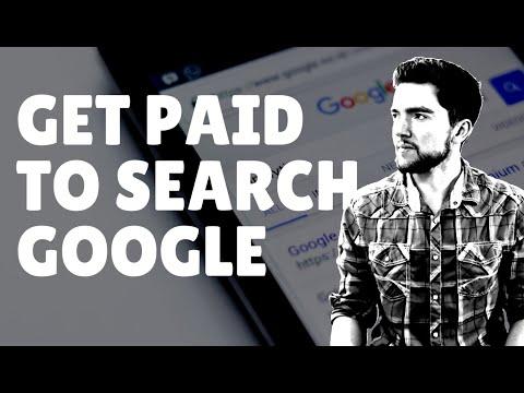 Sie werden dafür bezahlt, Google und andere Websites online zu durchsuchen (10 bis 15 US-Dollar pro Stunde).